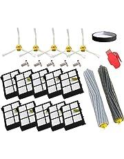 Accesorio para Irobot Roomba Rueda de rueda + Filtro HEPA + Reemplazo del kit de cepillo