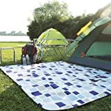 KANSOON Outdoor Dual-Layers Picnic Blanket, Blanket