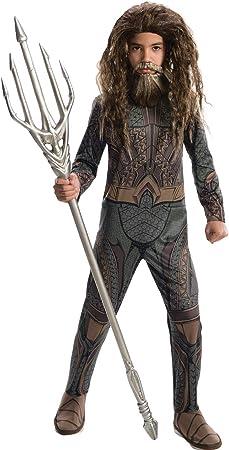 Rubies 's producto oficial de DC Liga de la justicia Aquaman, los niños disfraz