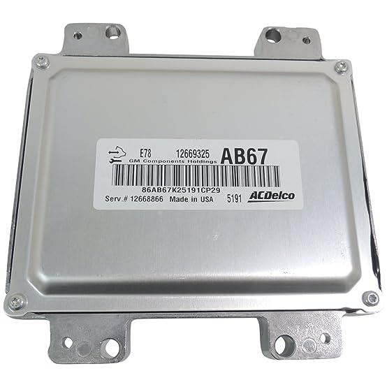 71hXRgXm1rL._SX554_ amazon com 12668866 engine control module new oem gm e78 ecm 2012  at pacquiaovsvargaslive.co
