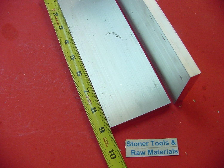 "2 Pieces 1/2"" X 3"" ALUMINUM 6061 FLAT BAR 9"" long T6511 .50"" Solid Mill Stock"
