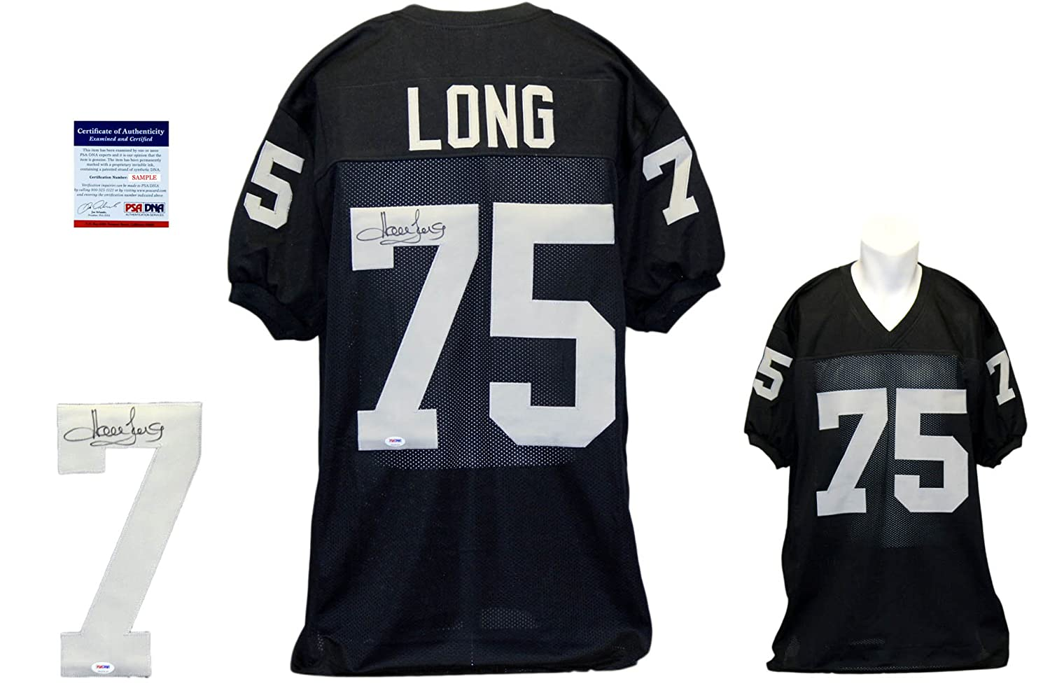 huge selection of 253ac dcabc Howie Long Signed Custom Jersey - PSA/DNA - Autographed - Black
