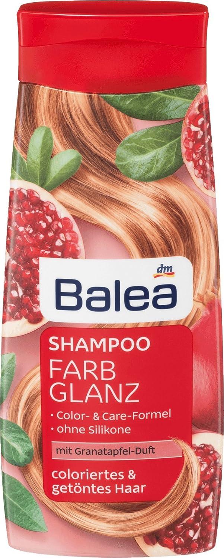 Amazoncom Balea Shampoo Color Gloss 300 Ml Pack Of 2 German