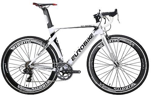 EUROBIKE XC7000 14 Speed Road Bike Light Aluminum Frame 700C Road Bicycle