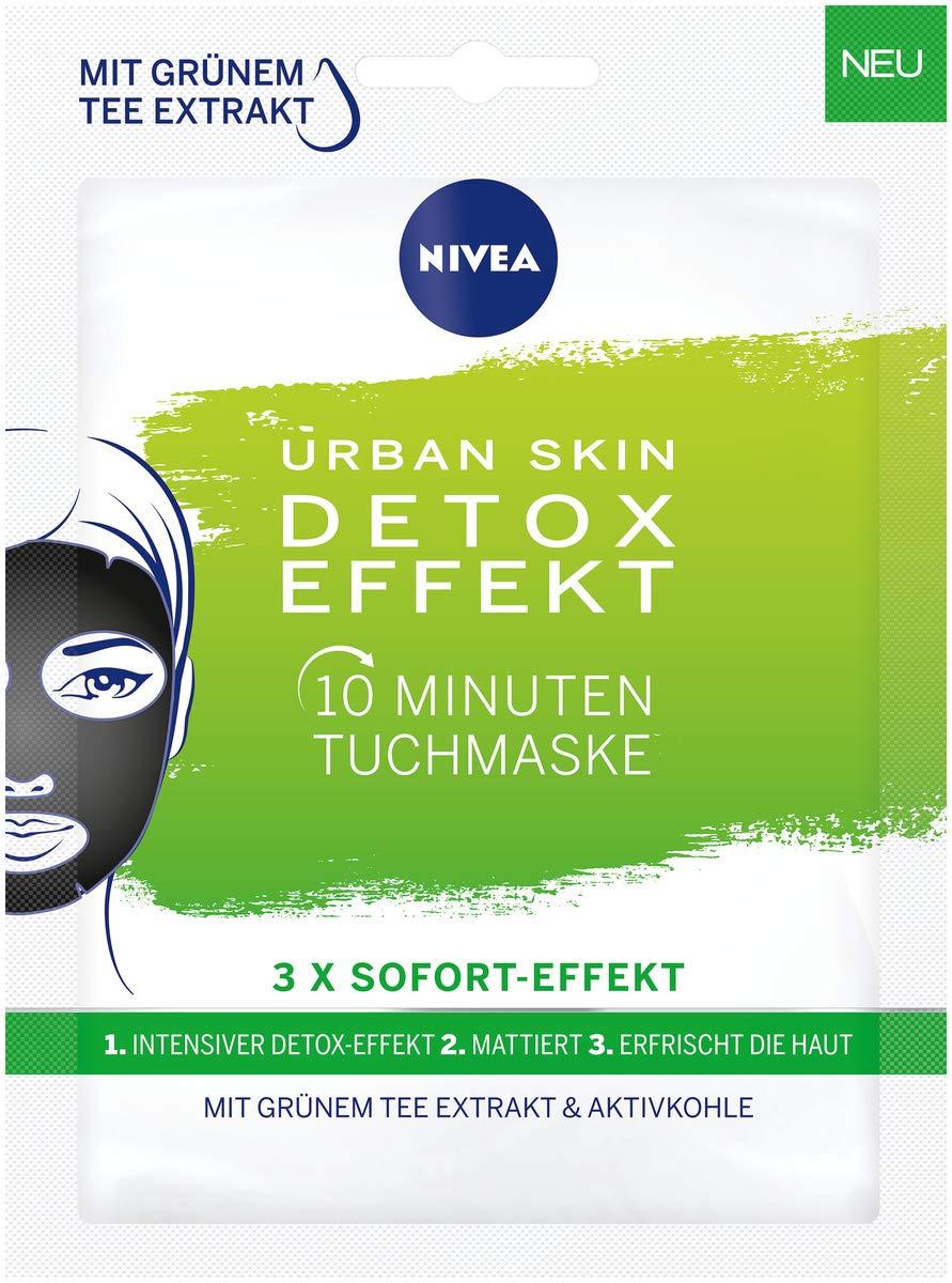 Nivea Urban Skin Detox - Mascarilla de 10 minutos, 5 ...