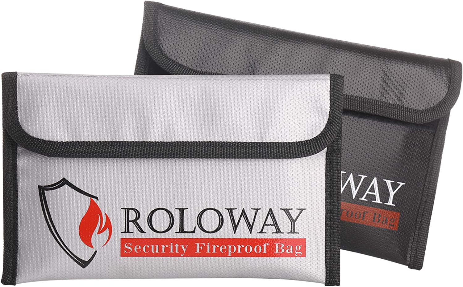 ROLOWAY Small Fireproof Money Bag