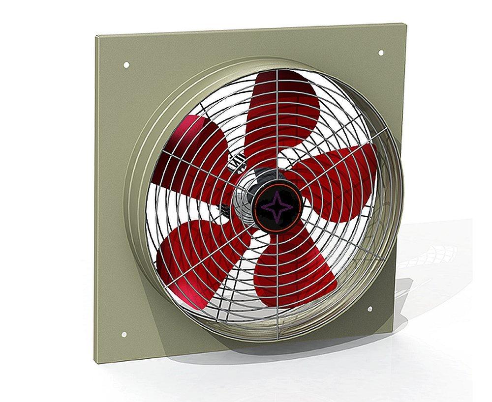 Ventilatore aspirante assiale aspiratore ø mm poli