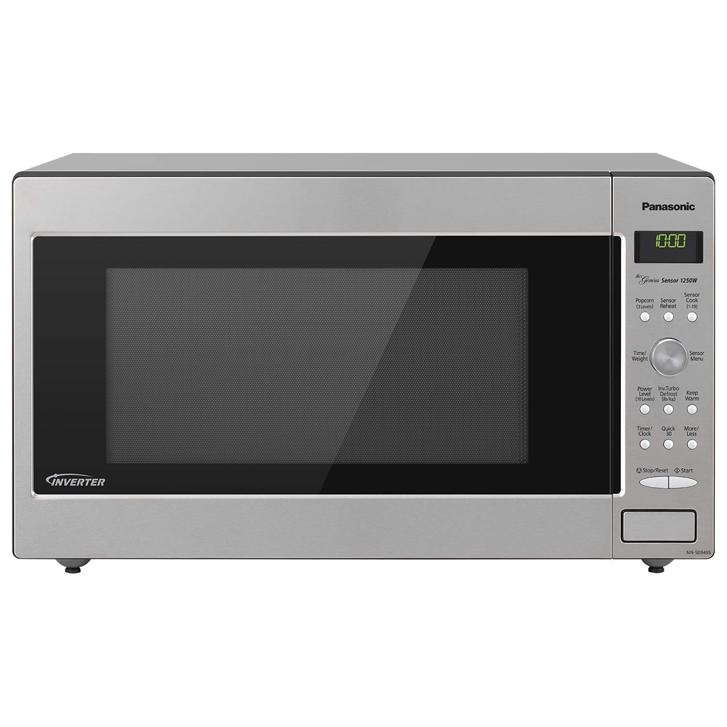 Amazon.com: Panasonic NN-SD755S / NN-SD765S Cyclonic Wave Inverter Technology Microwave Oven, 1.6 cu. Ft, Stainless (Certified Refurbished): Kitchen & ...
