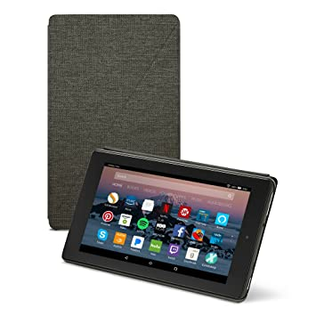 Amazon fire hd 8 tablet case 7th generation 2017 release amazon fire hd 8 tablet case 7th generation 2017 release charcoal black voltagebd Gallery