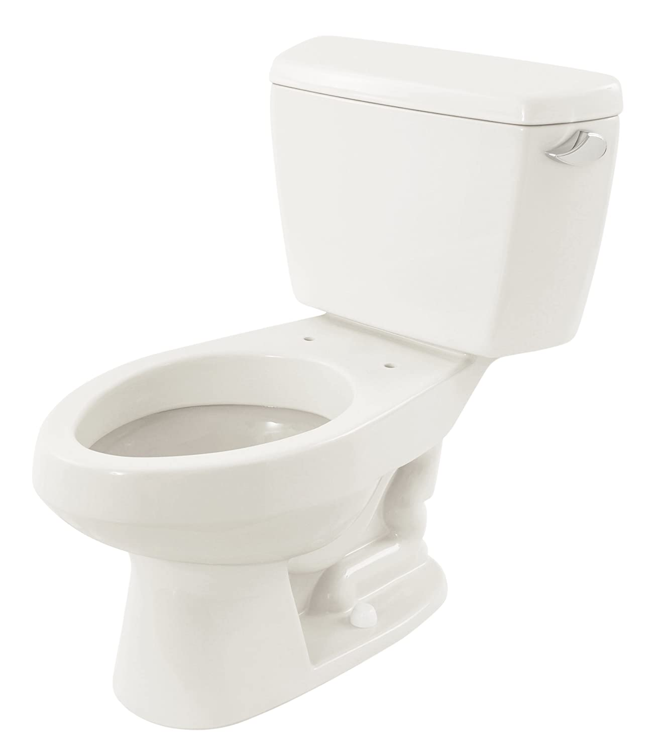 TOTO CST716R#01 Carusoe Elongated 2-Piece Toilet with Right-Hand ...