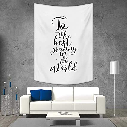 Amazon.com: smallbeefly Grandma Tapestry Wall Tapestry to ...
