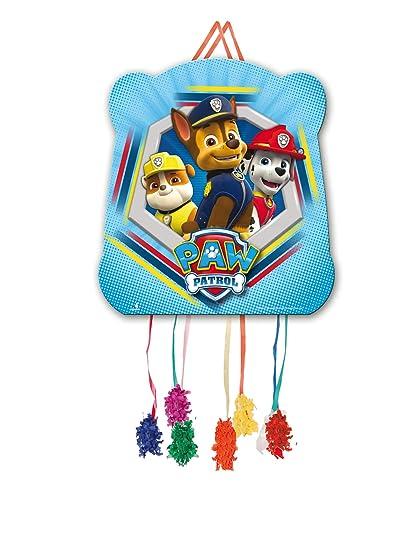 PAW PATROL 0826, Piñata Basic Patrulla Canina,, Fiestas y cumpleaños. 28x33 cms.
