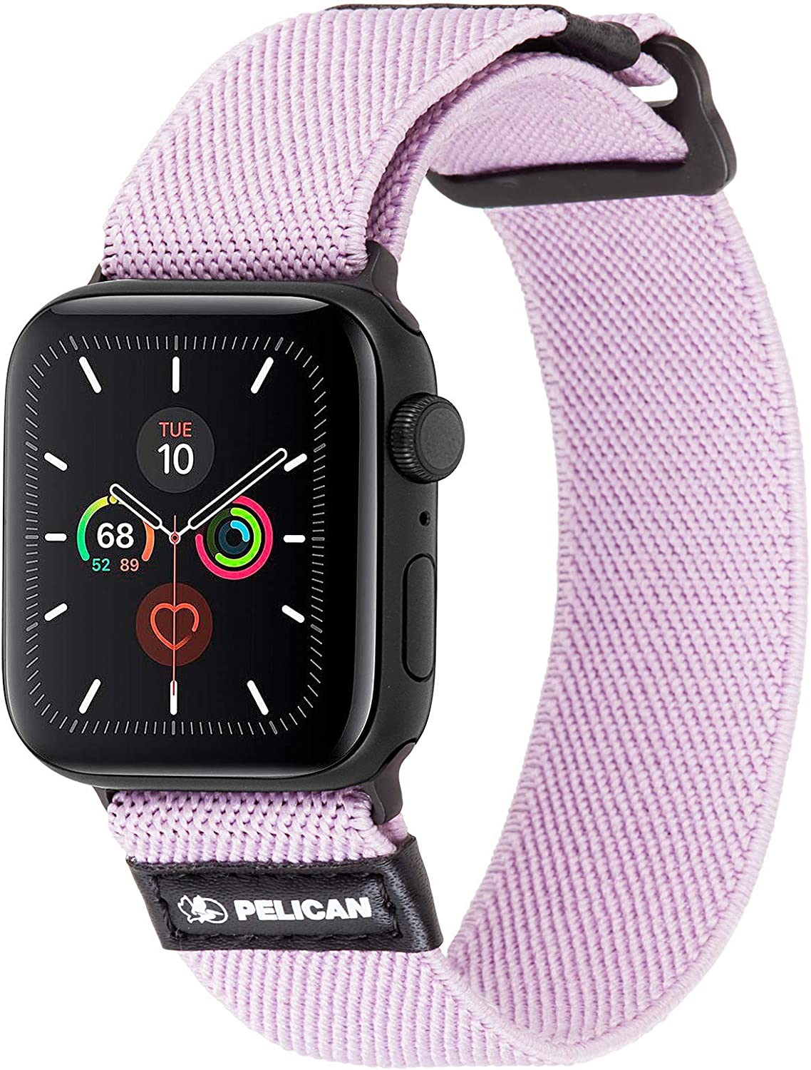 Pelican - 42-44mm Watch Band - PROTECTOR Series - Compatible w/ Apple Watch Series 6, SE, 5, 4, 3, 2, 1 - Mauve Purple