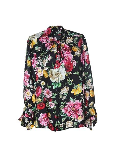 Dolce & Gabbana - Camisas - para Mujer Negro Talla de la Marca 44