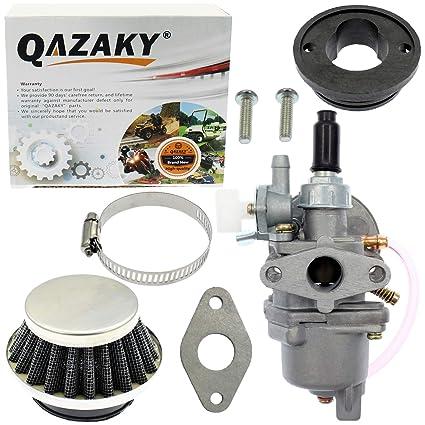 QAZAKY Filtro De Aire para El Carburador 43Cc 47Cc 49Cc ATV ...