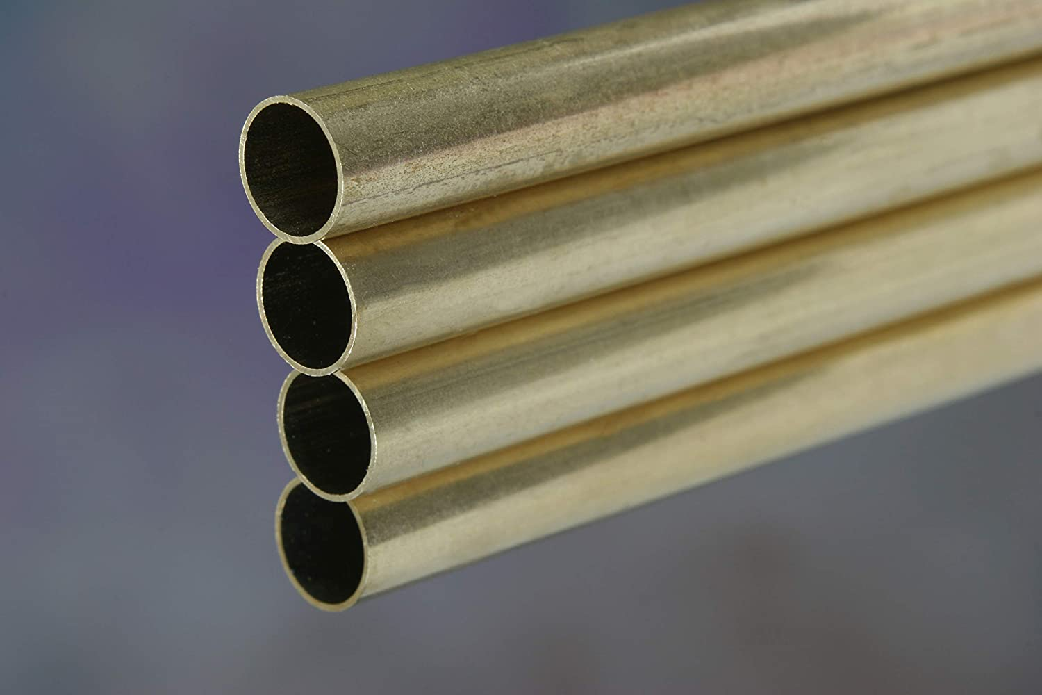 """Round Brass Tube 5//8/"""" Carded"""