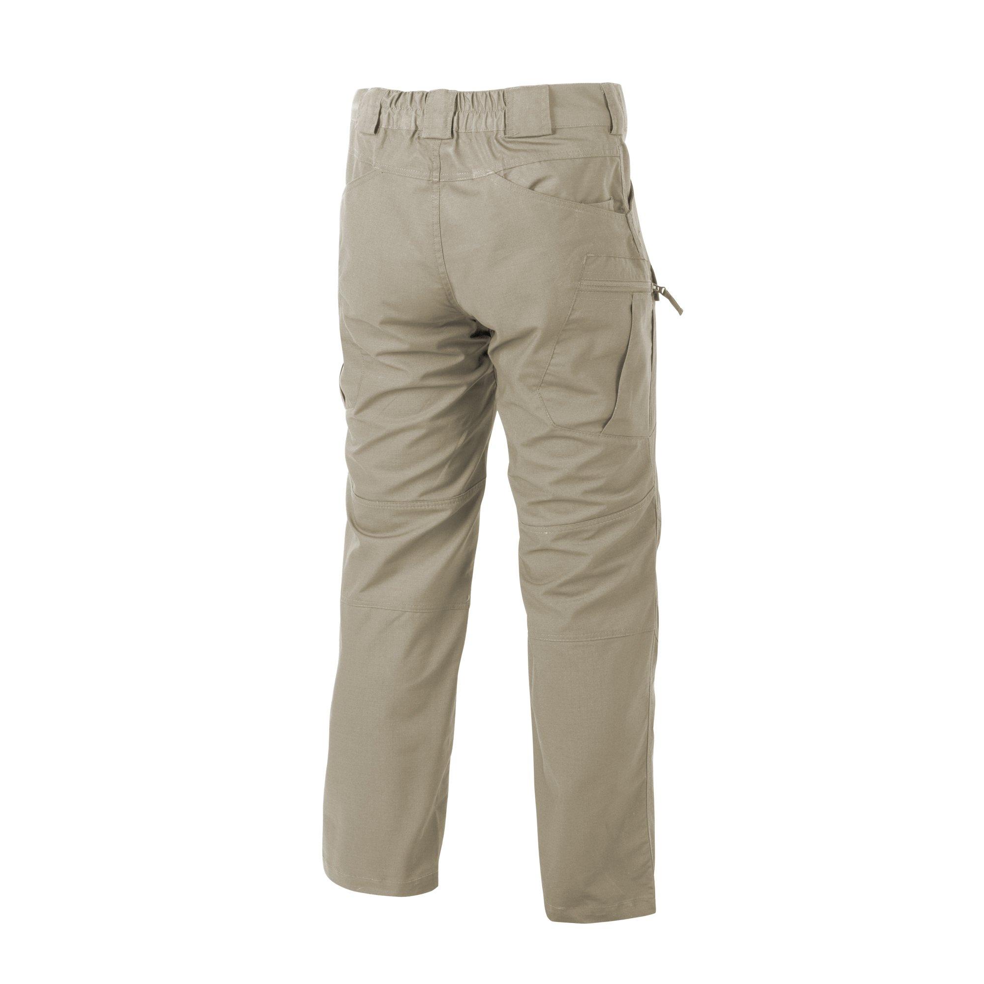 HELIKON-TEX Urban Line, UTP Urban Tactical Pants Ripstop Khaki, Military Ripstop Cargo Style, Men's Waist 38 Length 32 by HELIKON-TEX (Image #2)