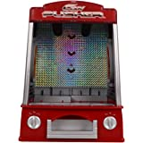 Costzon New Coin Pusher Machine Mini Penny Pusher Coin Pusher Fairground Arcade Amusements Game Replica for Famile...