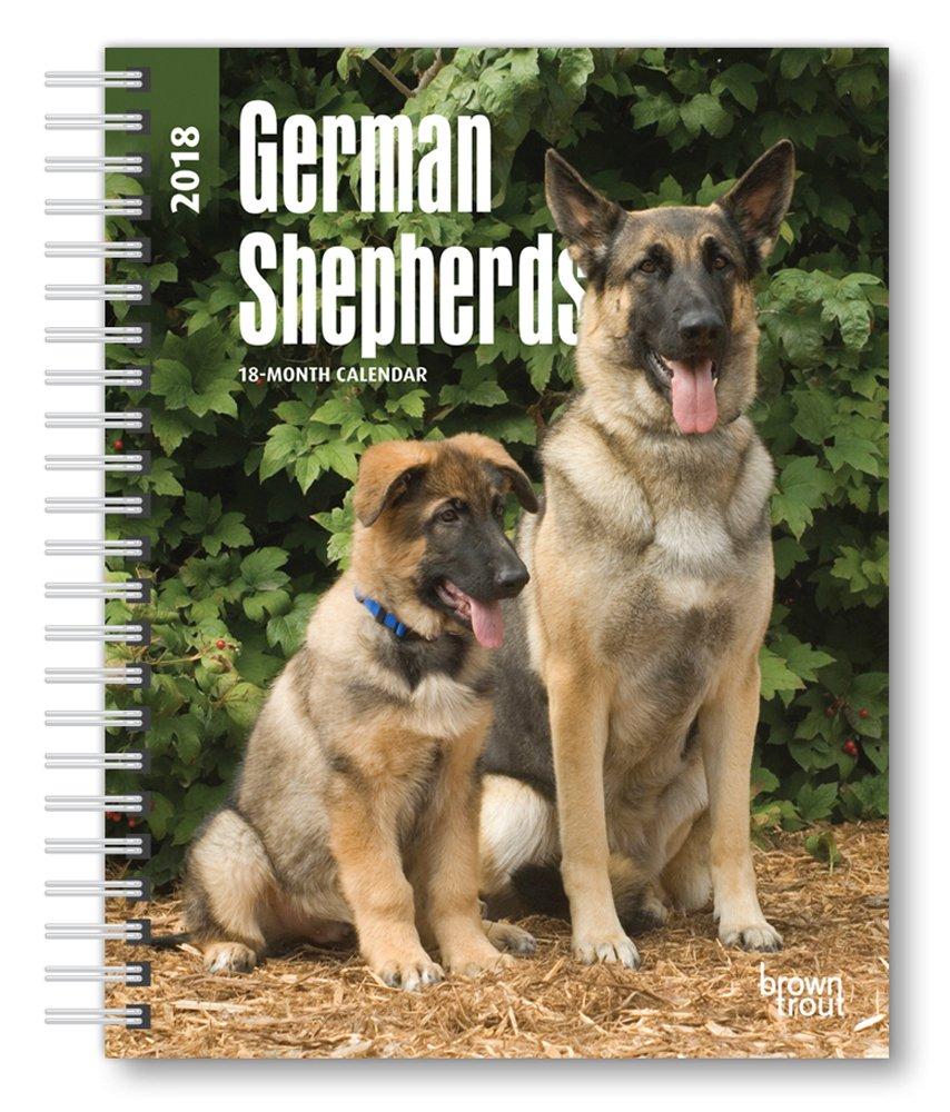 Read Online German Shepherds 2018 6 x 7.75 Inch Weekly Engagement Calendar, Animals Dog Breeds PDF