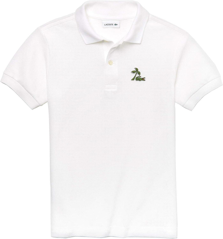 Lacoste - Polo - para niño Blanco 001 Blanc 74 cm/12 Meses: Amazon ...