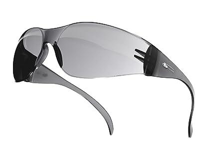 Bollé BL10CF b-Line, Gafas de Seguridad con Cristal Ahumado, Gris