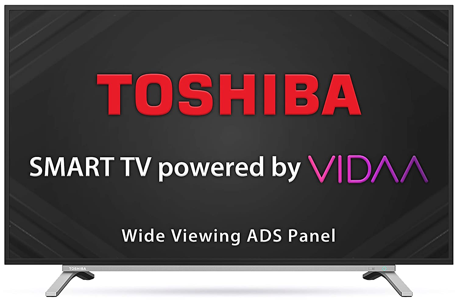Toshiba 108 cm (43 inches) Vidaa OS Series Full HD Smart ADS LED TV 43L5050 (Black) (2020 Model)