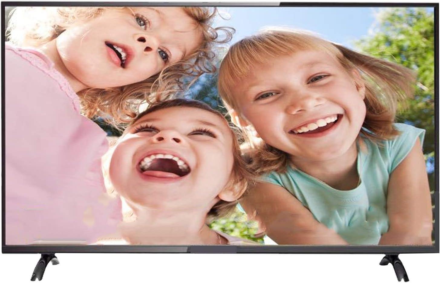 YILANJUN UHD Smart WiFi TV - 32/42/50/55 Pulgadas - Alto Rendimiento - Televisor 4K HD LCD (HDMI + USB + Proyección Inalámbrica + Control por Voz)