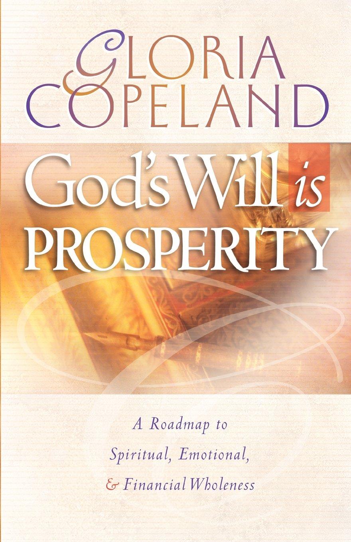 Download God's Will is Prosperity pdf