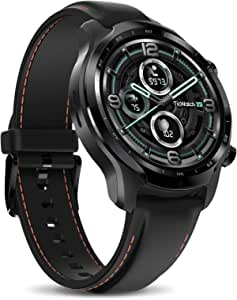 Ticwatch Pro 3 GPS Smartwatch for Men and Women, Qualcomm® Snapdragon Wear™ 4100 Platform,Wear OS by Google, Dual-Layer Display 2.0, Up to 3-45 Days Long Battery Life