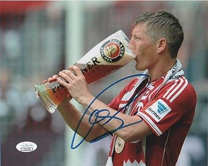 Bastian Schweinsteiger Bayern Munich Autographed Signed