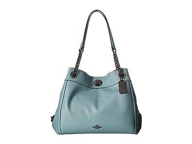 e352b67662a COACH Women s Turnlock Edie Dk Cloud One Size  Handbags  Amazon.com