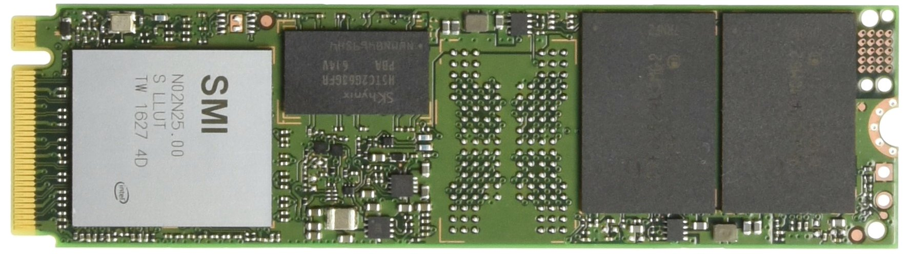 M.2 2280 128GB NVME Intel 600p Series PEKKW128G7X1 128GB M.2