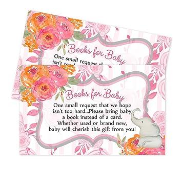 Bebé ducha libro pedir tarjetas o pañales para Baby Shower juegos de la rifa (libro