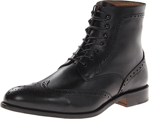 0cf444985e1 Massimo Matteo Men's 7-Eye Wing Boot