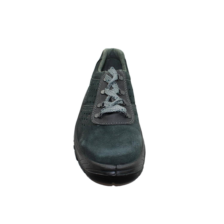 Auda - Chaussures De Sécurité En Cuir Pour Homme Vert WjWxK