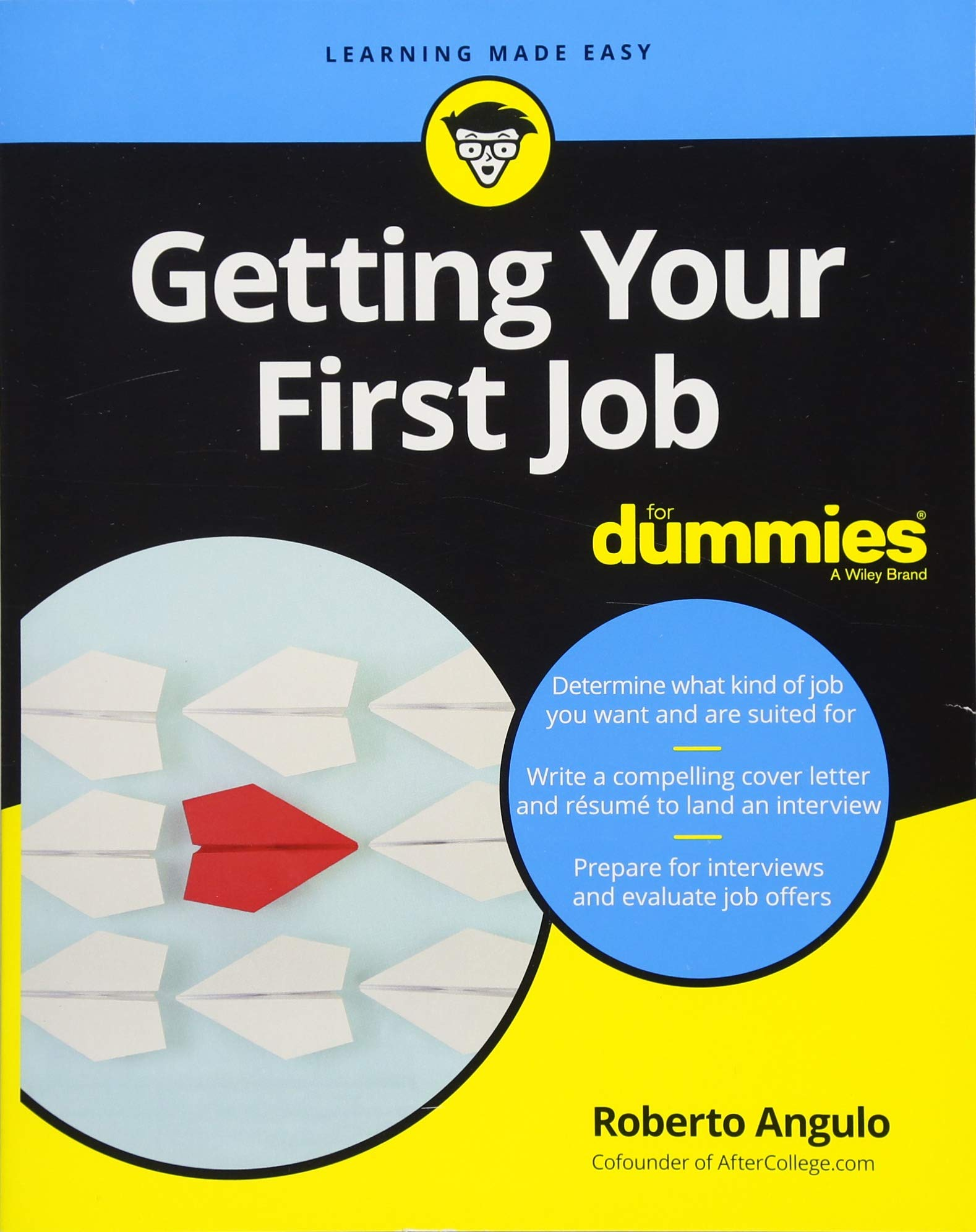 Getting Your First Job For Dummies For Dummies Business Personal