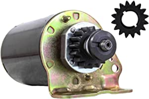 Rareelectrical NEW STARTER MOTOR COMPATIBLE WITH BRIGGS AND STRATTON ENGINE 31P677 31P707 31P777 31P877