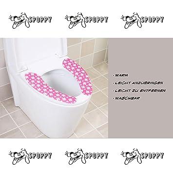 EQLEF/® 2 St/ück Winter Warmer Toilettensitzabdeckung Bequem WC-Sitz-Auflage-Matte