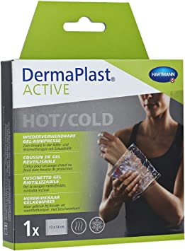 Derma plast Active Hot/Cold Pack tamaño pequeño, 13 x 14 cm 1 ...