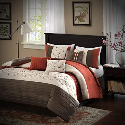 Amazon.com: Luxury Comforter Set California King - 7 Piece - Best ...