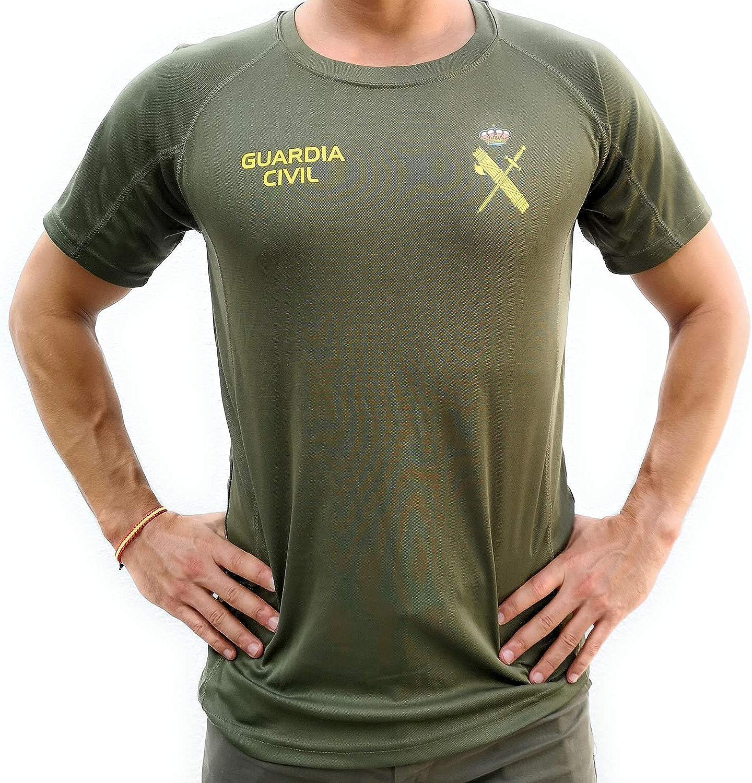Camiseta técnica de la Guardia civil para entrenamiento opositor: Amazon.es: Ropa y accesorios