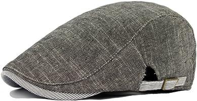 Men Vintage Cowboy Retro Cotton Cap Duckbill Beret Sunhat Casual Hip Hop Hat