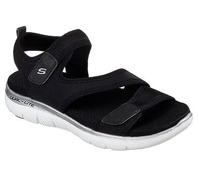 385626b23af9 Skechers Womens Flex Appeal 2.0 ¿ Summer Patrol  Amazon.co.uk  Shoes   Bags