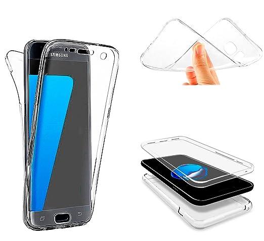 7 opinioni per cover LG G5 Custodia , Leathlux 360 Gradi Integrale Protezione Silicone