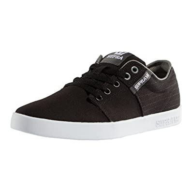 Mens Supra Stacks Ii - Trainers - Black/Red TO07355