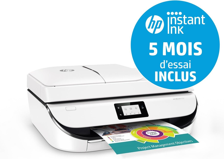 HP OfficeJet 5232 1200 x 1200DPI Inyección de Tinta A4 10ppm WiFi ...