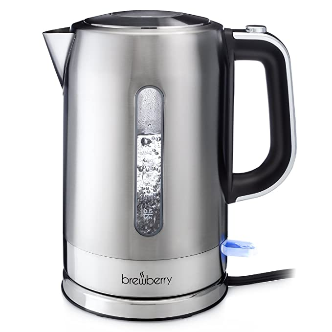 Review Brewberry Cordless Electric Kettle