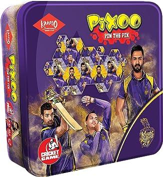 Kaadoo Pixoo-KKR-Cricketer Puzzle Game