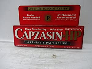 Capzasin HP Arthritis Pain Relief, Creme - 1.5 oz (PACK OF 3)