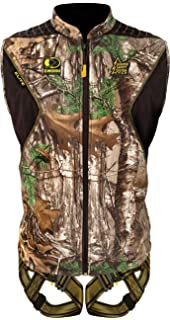 Hunter Safety System Elite Vest Safety Harness with Elimishield Scent Control Technology